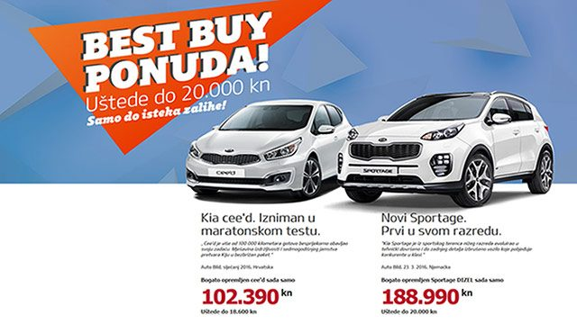 Kia ima Best Buy ponudu!
