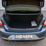Grand Coupé ima prtljažnik koji zaprima 503 dm3, što predstavlja 119 litara više od zapremnine koju nudi Mégane hatchback